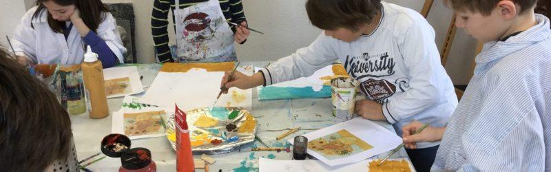 Malen wie vincent van Gogh